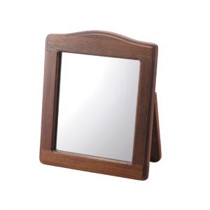 卓上鏡 木製フレーム
