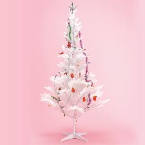 クリスマスツリー 210・白