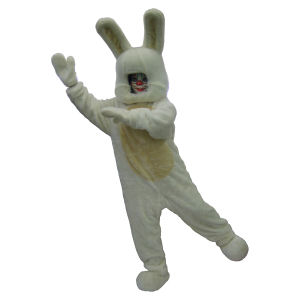 ウサギ 顔出し