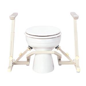 ・手すり洋式トイレ用フレーム 安寿