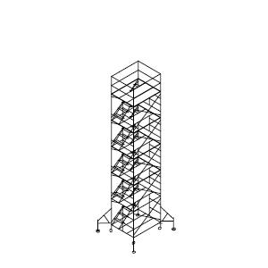 ローリングタワー内階段 5段セット