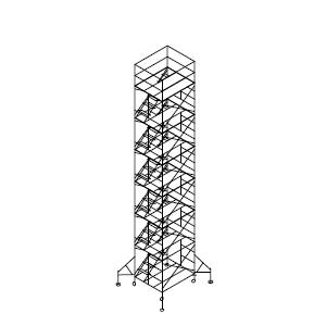 ローリングタワー内階段 6段セット