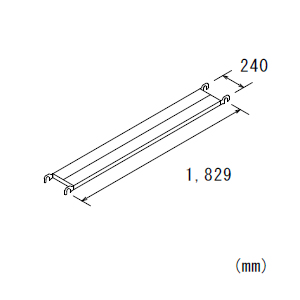 鋼製布板BKN624