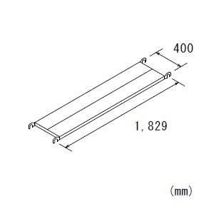 鋼製布板BKN640