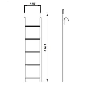 タワー用昇降梯子