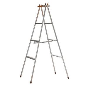 鉄製脚立ステップ付   6尺