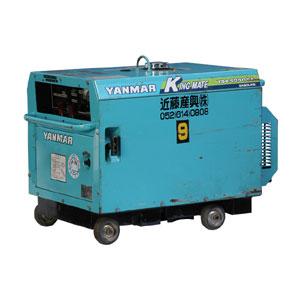 発電機  5KVA防音 ガソリン