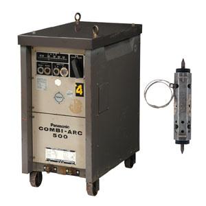 交流アーク溶接機 500A リモコン付