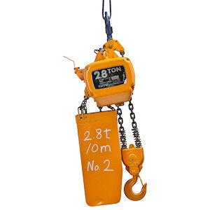 電動チェーンブロック 2.8t 10m