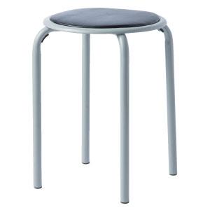 丸椅子 黒 SS−320T