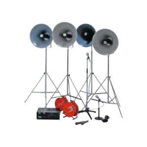 アンプ据置型120W CD付 セット