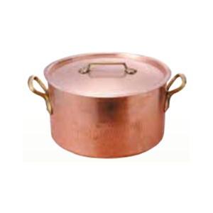 鍋 半寸胴 銅製 40径
