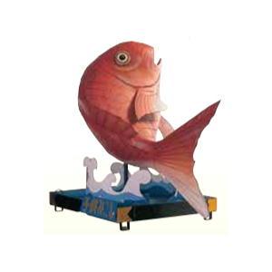 祭り子供御神輿 鯛