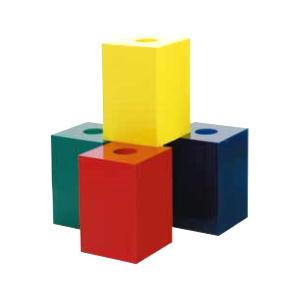 抽選箱30・30・45 アクリル製 黄