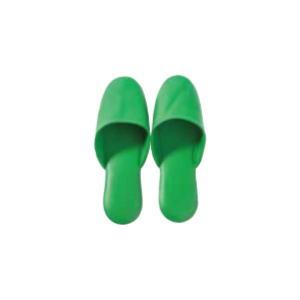 スリッパ 緑