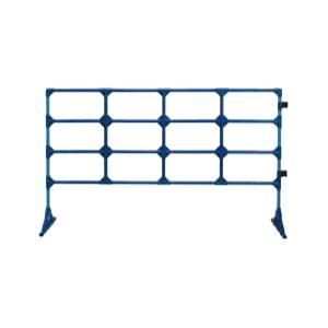 パイプ製フェンス180・100青