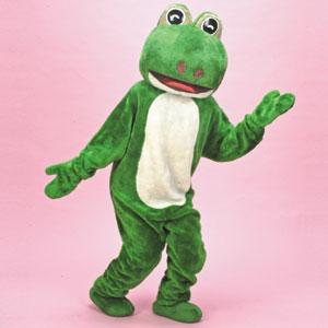 カエル 緑